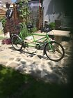 Tandem bicycle Amico fully serviced greengold colour