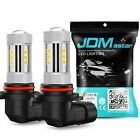 JDM ASTAR 1300Lm H10 9145 3030-LED Fog DRL Running Lights Xenon White Bulbs Lamp