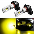 JDM ASTAR 1200Lm H10 9145 CSP-LED Fog DRL Running Light Golden Yellow Bulbs Lamp