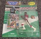 1999-2000 Starting Lineup Jerry Rice With Card New