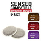 54 Pods Senseo compatible Italian Coffee Pads STARTER PACK FREE FAST SHIPPING