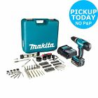 Makita LXT 18V 3Ah Cordless Combi Drill with 101 Accessories From Argos on ebay