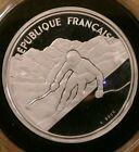 France Proof 100 Francs Silver Coin 1989