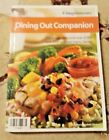 Weight Watchers Dining Out Companion Core Points Plus Foods 2005 GOOD CONDITION