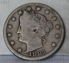 1885 Liberty Head Nickel *Free S/H After 1st Item*