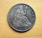 1849 Liberty Seated Half Dollar in a strong VF-EF