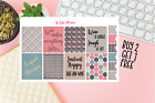 Wine Quotes Planner stickers Full Boxes Erin Condren Happy Planner stickers