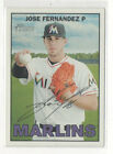 Jose Fernandez Rookie Cards and Prospect Card Guide 26