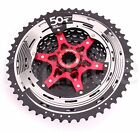 2017 SunRace CSMX80 Bicycle Freewheel 11 50T 11S Mountain Bicycle Cassette Black