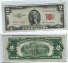 1953 C $2 Two Dollar Red Seal Note - Uncirculated (SKU428)