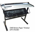 1300mm 51In Aluminum Alloy Rotary Paper Trimmer Cutter with Support Stand