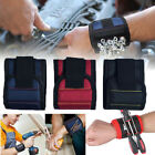 3 Grid Magnetic Wristband Pocket Tool Pouch Bag Screws Holding Working