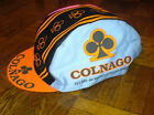 COLNAGO BICYCLE CAP HAT WHITE MEN CANT JUMP SIDNEY DEANE NEW BIKE