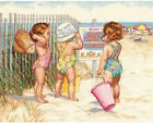 Dimensions Needlecrafts 35216 Beach Babies Counted Cross Stitch Kit