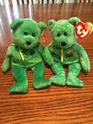Retired Killarney TY Beanie Baby and Dublin Beanie  With Tags Lot Of 2 VGC