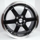 4 18 Black Honda Accord Civic Si Prelude S2000 Honda Rims Wheels 5x1143 +35