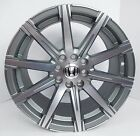 4x 16 Honda Civic Del Sol Accord Prelude Gunmetal Wheels Rims 4x100 4x1143