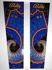 DR. WHO PINBALL MACHINE UPPER BACKBOX HEAD DECALS!*SUPER RARE!*