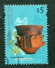 ARGENTINA 2000 5P FUNERARY URN - BELEN CULTURE HIGH VALUE STAMP - $7.00 VALUE!