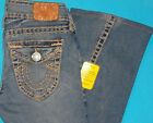 28 x 31 PRE Owned TRUE RELIGION 319 VINTAGE JOEY SUPER T Twist Flare JEANS