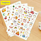 6 pcs pack Cute Season 3 Molang Rabbit Decorative Sticker Diary Album Label Stic