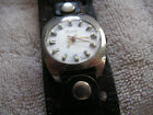 Vintage Lucerne Electra Swiss Watch with Large Band
