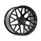 21 ROHANA RFX10 BLACK CONCAVE WHEELS RIMS FITS AUDI A7 S7 RS7