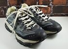SKECHERS Sport Mens Blue Gray Lace Up Athletic Fitness Sneakers Shoes Sz 12