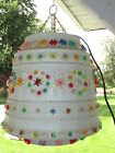 Vintage Lawnware Lawn Ware Outdoor Hanging Lamp RV Retro Camping Tiki Pool Light