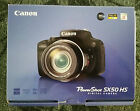 Canon PowerShot SX50 HS 121MP Digital Camera Black