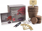 Planters Choice Bonsai Starter Kit the Complete Kit to Easily Grow 4 Bonsai T