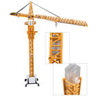 150 Scale Diecast Tower Slewing Crane Construction Vehicle Car Models By KDW