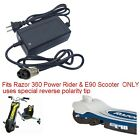Charger for Razor 360 Power Rider trike E90 Scooter  Jr Electric Wagon