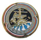 NASA enamel PIN  MIR  Space Station Shuttle PK MNP Russia