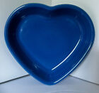 NEW Fiesta Lapis Medium 19oz HEART BOWL New w/ Tags 1st Quality / Valentine