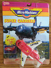 Micro Machines Super Carriers Jet Cargo Carrier Galoob 1990 NIP