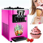 220V 18L/H Soft Ice Cream Cones Making Machine Commercial Maker With 3 Flavors