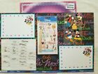 Disney Autographs Scrapbook Collection 8 Pieces NEW  PREOWNED