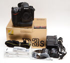 Nikon D3s 121 MP Digital SLR Camera + Extras LOW 17K Shutter Count USA Model