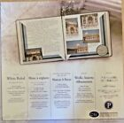 CREATIVE MEMORIES WHITE RULED SCRAPBOOK PAGES 12 X 12 5 OLD STYLE NIP