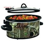 Carry Oval Manual Portable Slow Cooker, Mossy Oak
