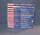 Lot of 12 Childhood of Famous Americans PB Books Free Shipping