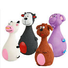 New Pet Funny Animal Design Squeaky Latex Dog Chew Sound Puppy Play Fetch Hot
