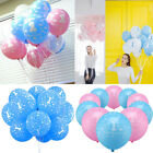 10pcs Party Printed Boy First Birthday Baby Girl Ballons Hot 1st Number 1 Decor