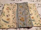 April Cornell Pillow Covers / Shams Set Of 3 Floral Design