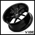 20 XO ATHENS GLOSS BLACK LIP WHEELS RIMS FITS PONTIAC G8 GT