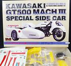 NAGANO � Kawasaki GT500 Mach Ⅲ Side Car � 1 8 Scale Motorcycle Plastic Model Kit