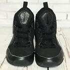 NIKE Youth Boys Sneakers Lace Up Black Tennis Shoes Size 1