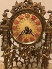 French Ormolu Gilt Mantel Clock German Movement Exc Cond