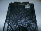 HALLOWEEN Black Spider Web Lace Drape Hanging Creepy Display Party Decoration